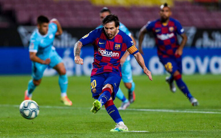 Messi Jago di Lapangan Karena Memiliki Naluri Penjudi